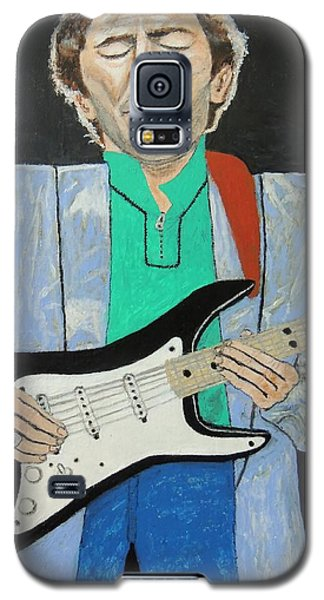 Galaxy S5 Case featuring the painting Old Slowhand. by Ken Zabel
