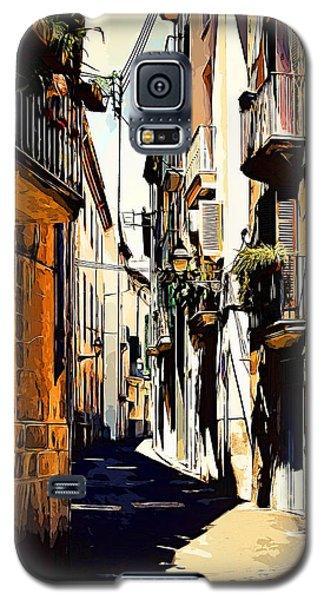 Old Spanish Street Galaxy S5 Case