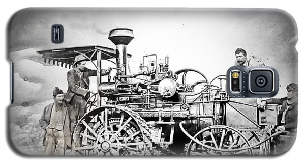 Old Steam Tractor Galaxy S5 Case