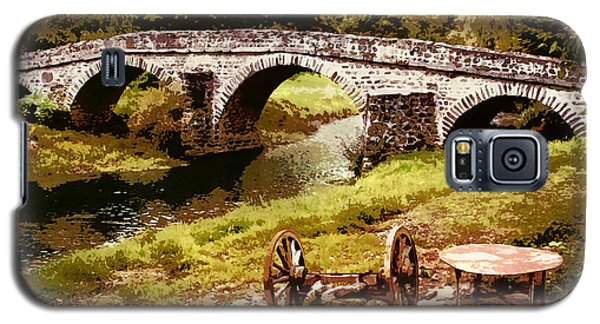 Old Stone Bridge In France Galaxy S5 Case
