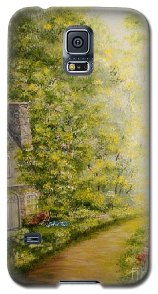 Old Stone Cottage Galaxy S5 Case