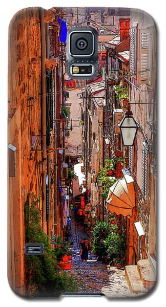 Old Town Dubrovniks Inner Passages Galaxy S5 Case