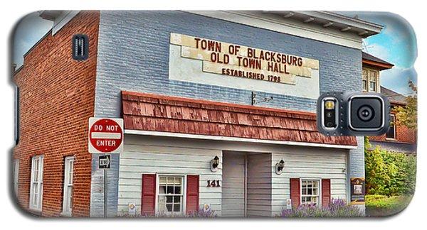 Old Town Hall Blacksburg Virginia Est 1798 Galaxy S5 Case