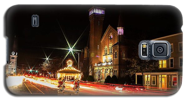 Old Town Hall Light Trails Galaxy S5 Case