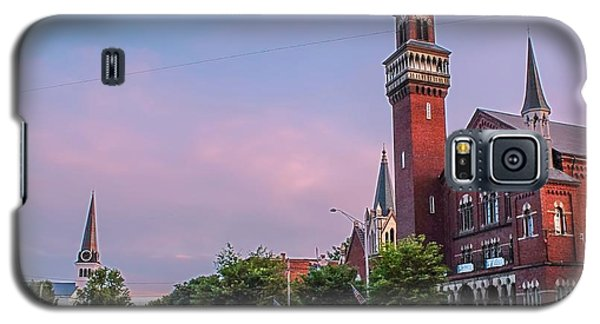 Old Town Hall Sunset Sky Galaxy S5 Case