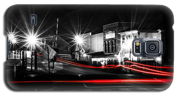 Old Town Helena At Night Galaxy S5 Case by Shelby  Young