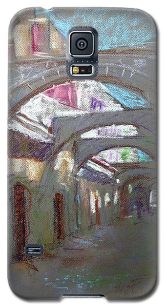 Town Galaxy S5 Case - Old Town In Rhodes  Greece by Ylli Haruni