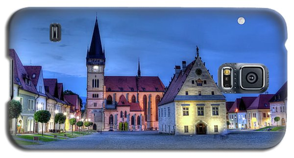 Old Town Square In Bardejov, Slovakia,hdr Galaxy S5 Case by Elenarts - Elena Duvernay photo