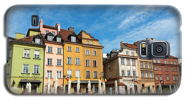 Galaxy S5 Case featuring the photograph Old Town Warsaw by Chevy Fleet