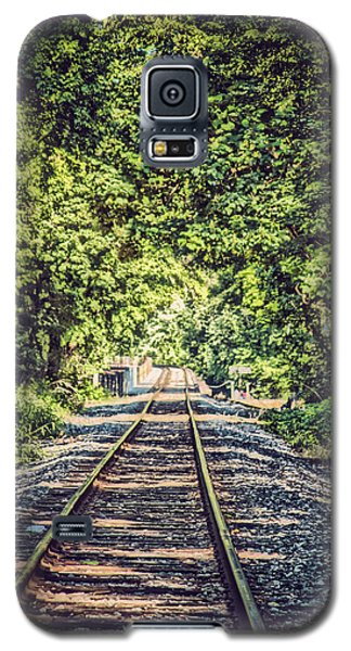 Old Tracks Galaxy S5 Case