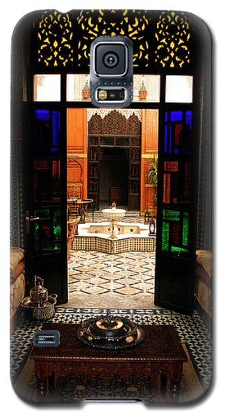 Old Traditional Riad In Fez Galaxy S5 Case by Ralph A  Ledergerber-Photography