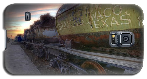Old Train - Galveston, Tx 2 Galaxy S5 Case