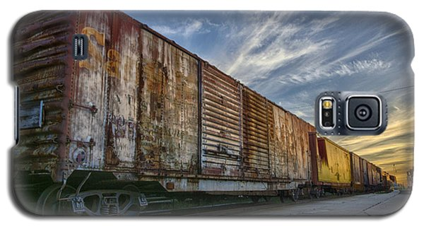 Old Train - Galveston, Tx Galaxy S5 Case