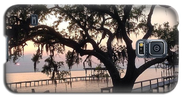Galaxy S5 Case featuring the photograph Old Tree At The Dock by Christin Brodie