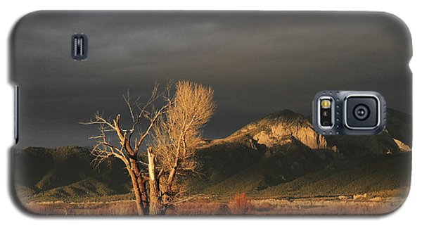 Sunset On The Old Cottonwood Galaxy S5 Case