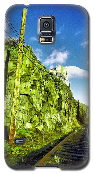 Galaxy S5 Case featuring the photograph Old Trolly Tracks by Jeff Swan