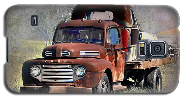 Galaxy S5 Case featuring the photograph Old Trucks by Savannah Gibbs
