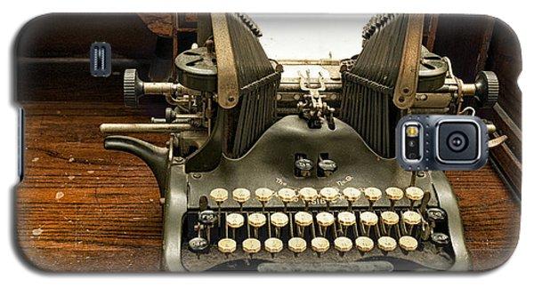 Old Typewriter Galaxy S5 Case