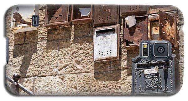 Old  Mailboxes In Jerusalem Galaxy S5 Case by Yoel Koskas