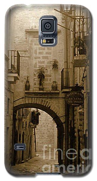 Old Village Street Galaxy S5 Case