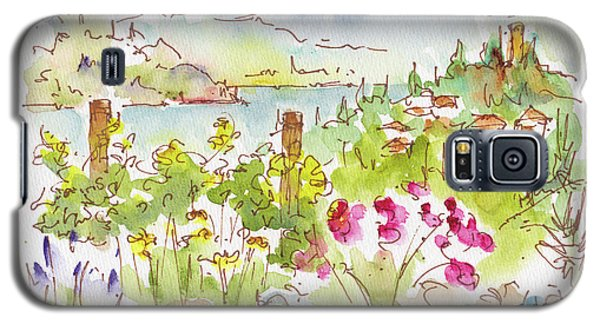 Galaxy S5 Case featuring the painting Old Vines Okanagan by Pat Katz