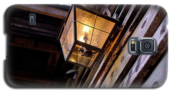 Old Vintage Light On A Wooden Wall In Saint Augustine Florida Galaxy S5 Case