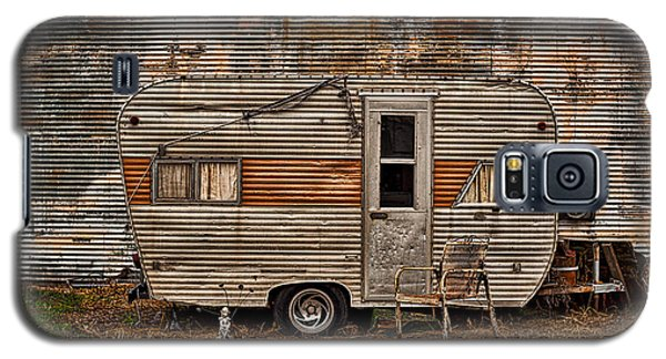 Old Vintage Rv Camper In The Mississippi Delta Galaxy S5 Case