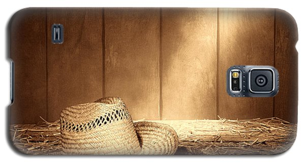 Old West Farmer Hat Galaxy S5 Case