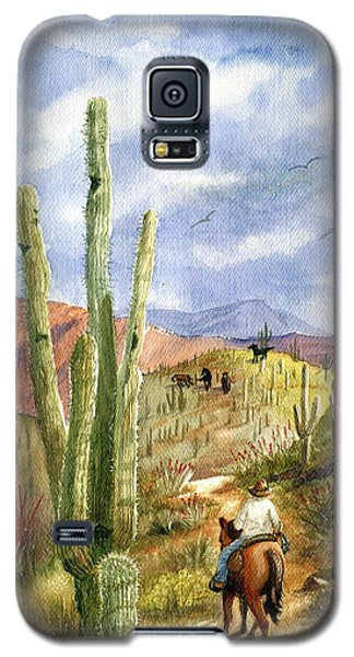 Old Western Skies Galaxy S5 Case