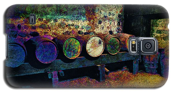 Galaxy S5 Case featuring the digital art Old Wine Barrels by Glenn McCarthy Art and Photography