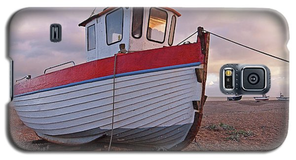 Old Wooden Fishing Boat Home By Sunset Galaxy S5 Case