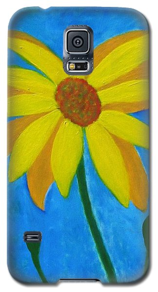 Old Yellow  Galaxy S5 Case