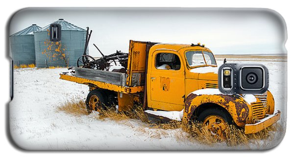 Truck Galaxy S5 Case - Old Yellow by Todd Klassy