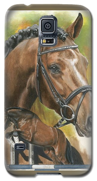 Galaxy S5 Case featuring the painting Oldenberg by Barbara Keith