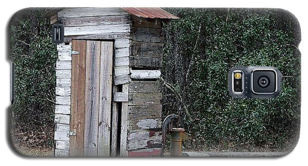 Oldtime Outhouse - Digital Art Galaxy S5 Case