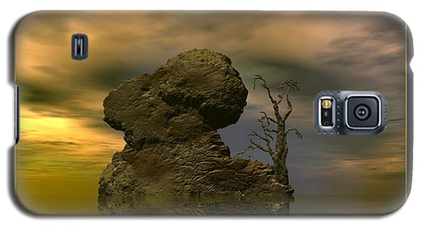 Galaxy S5 Case featuring the digital art Olim - Quondam - Surrealism by Sipo Liimatainen