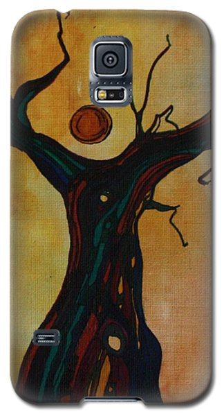 Olive Tree Woman Galaxy S5 Case