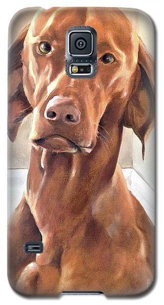 Galaxy S5 Case featuring the painting Oliver by Diane Daigle