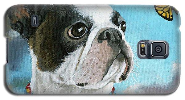 Oliver - Dog Pet Portrait Galaxy S5 Case