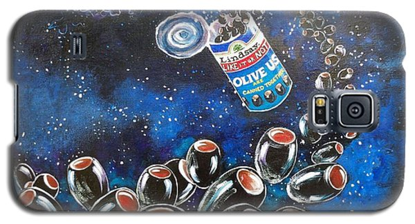 Blaa Kattproduksjoner                     Oliveus Are Canned Together Can Galaxy S5 Case