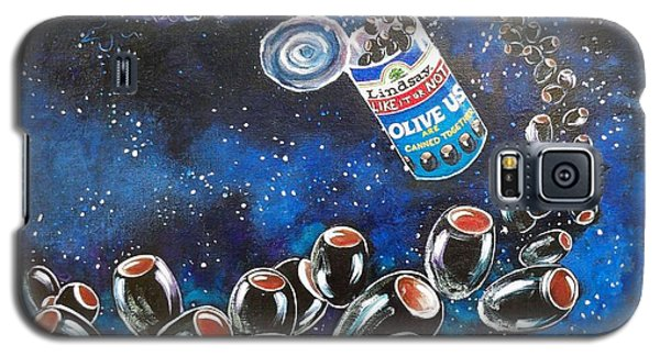Blaa Kattproduksjoner                     Oliveus Are Canned Together Can Galaxy S5 Case