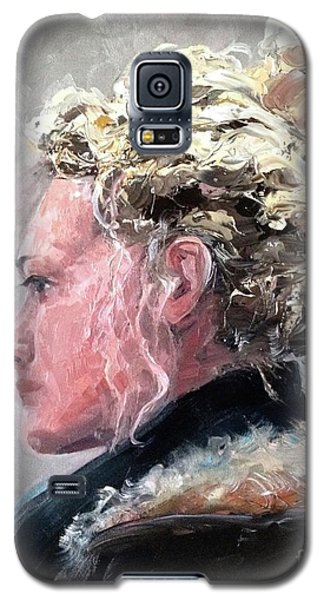 Galaxy S5 Case featuring the painting Olivia 2 by Diane Daigle