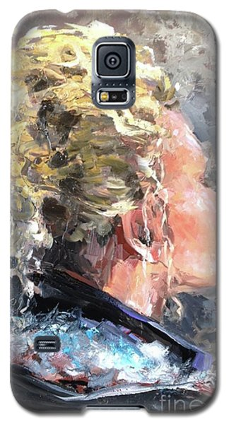 Galaxy S5 Case featuring the painting Olivia by Diane Daigle