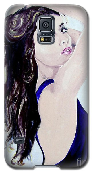 Olivia Galaxy S5 Case by Lisa Rose Musselwhite