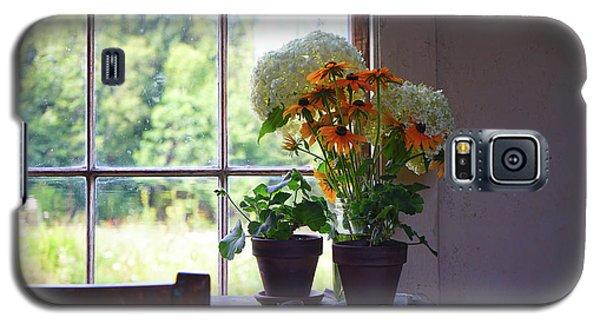 Olson House Flowers On Table Galaxy S5 Case