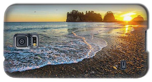 Olympic Peninsula Sunset Galaxy S5 Case