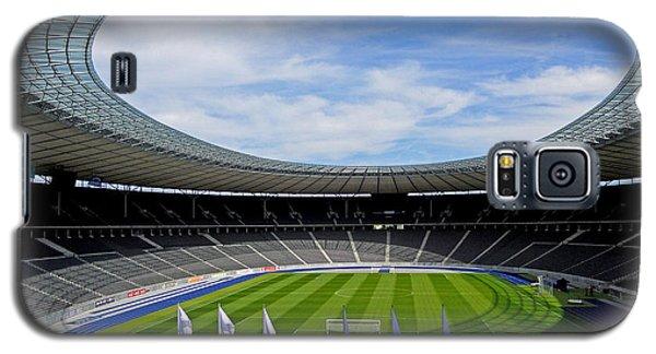 Olympic Stadium Berlin Galaxy S5 Case by Juergen Weiss
