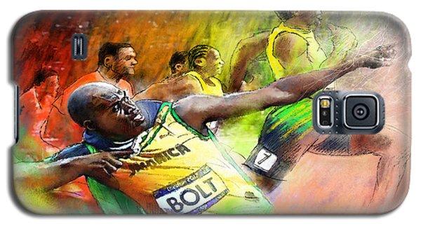 Olympics 100 M Gold Medal Usain Bolt Galaxy S5 Case