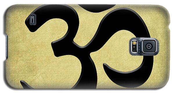Om Gold Galaxy S5 Case by Kandy Hurley