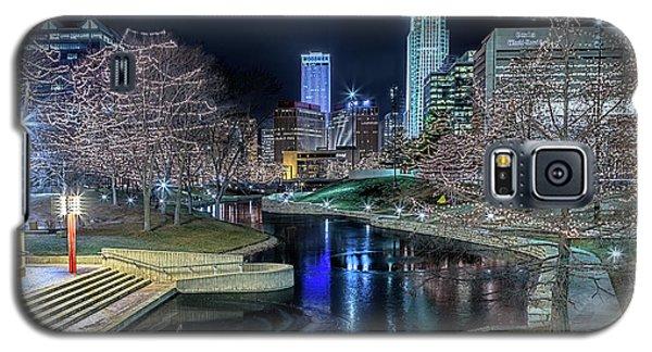 Omaha Holiday Lights Festival Galaxy S5 Case